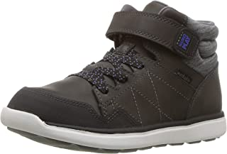 Stride Rite Kids' Saul Boy's and Girl's Machine Washable Leather Sneaker Fashion Boot