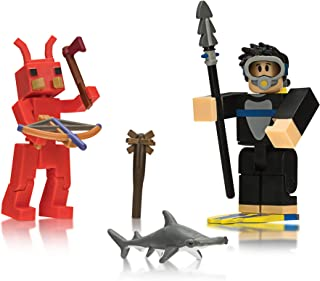 Roblox - Fish Simulator: Diver and Booga Booga: Fire Ant (Two Figure Pack)