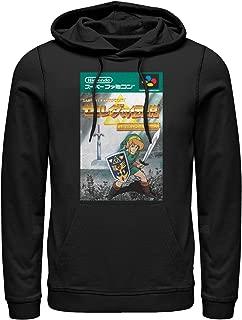 Nintendo Men's Legend of Zelda Japanese Cover Art Hoodie