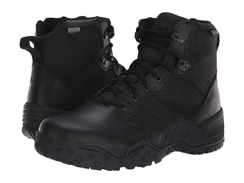 Danner Scorch 6 Side Zip Waterproof (Black) Men