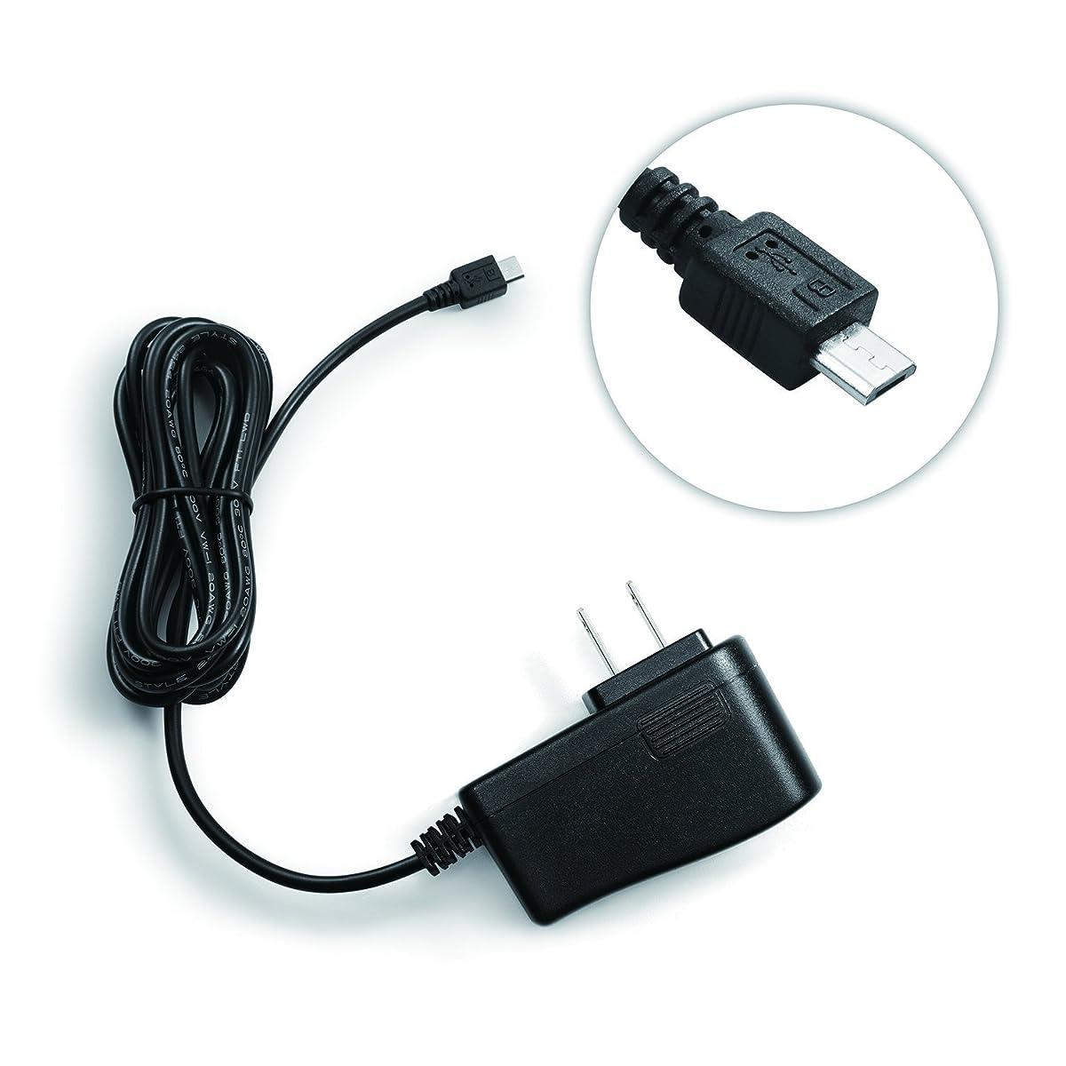 Bawofu 5V 2000mA Micro USB Power Supply Wall Charger AC/DC Adapter Universal Power Adapter