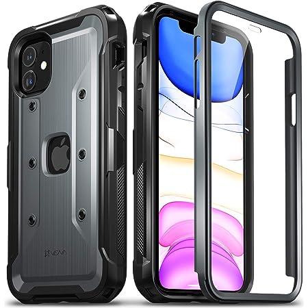 Vena vArmor PRO フルボディ保護ケース Apple iPhone 11 (6.1インチ 2019)対応 (ミリタリーグレード) 高耐久 頑丈なカバー スクリーンプロテクター内蔵 - スペースグレー