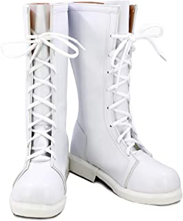 Cells at Work! Anime White Blood Cell Cosplay Shoes Boots Custom Made