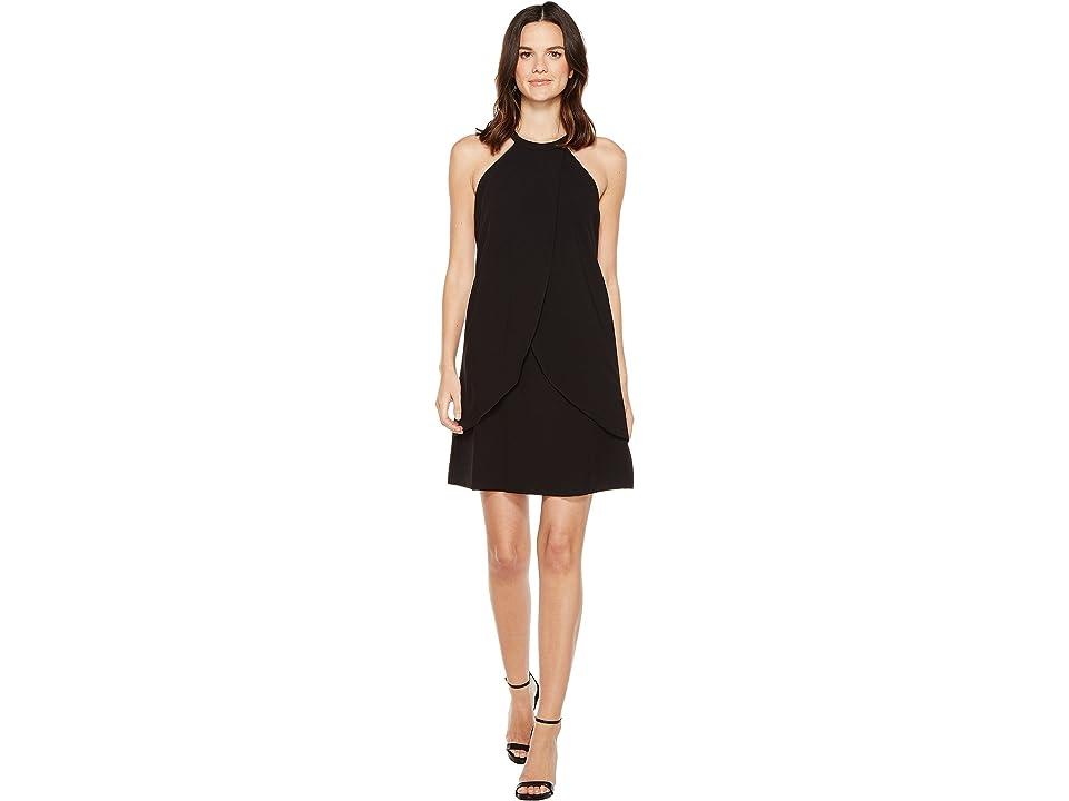 Tahari by ASL Tulip Shift Dress (Black) Women