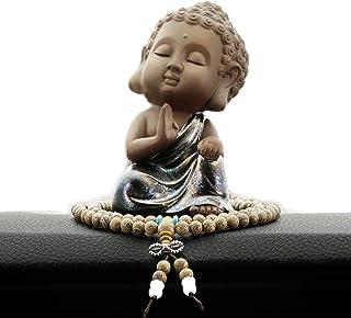 佛像 释迦 如来 迷你 迷你 小型 摆件 木雕 可爱 佛龛 本尊 迷你,C