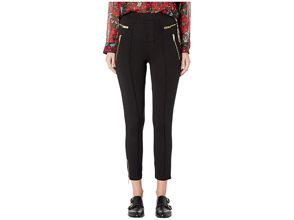 The Kooples Flared Cropped Pants (Black) Women