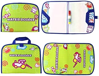 GOODYEZZ Water Doodle Play Mat for Kids, Water Painting Drawing Board & Magic Pen, Foldable in Easy Portable Travel Bag 14