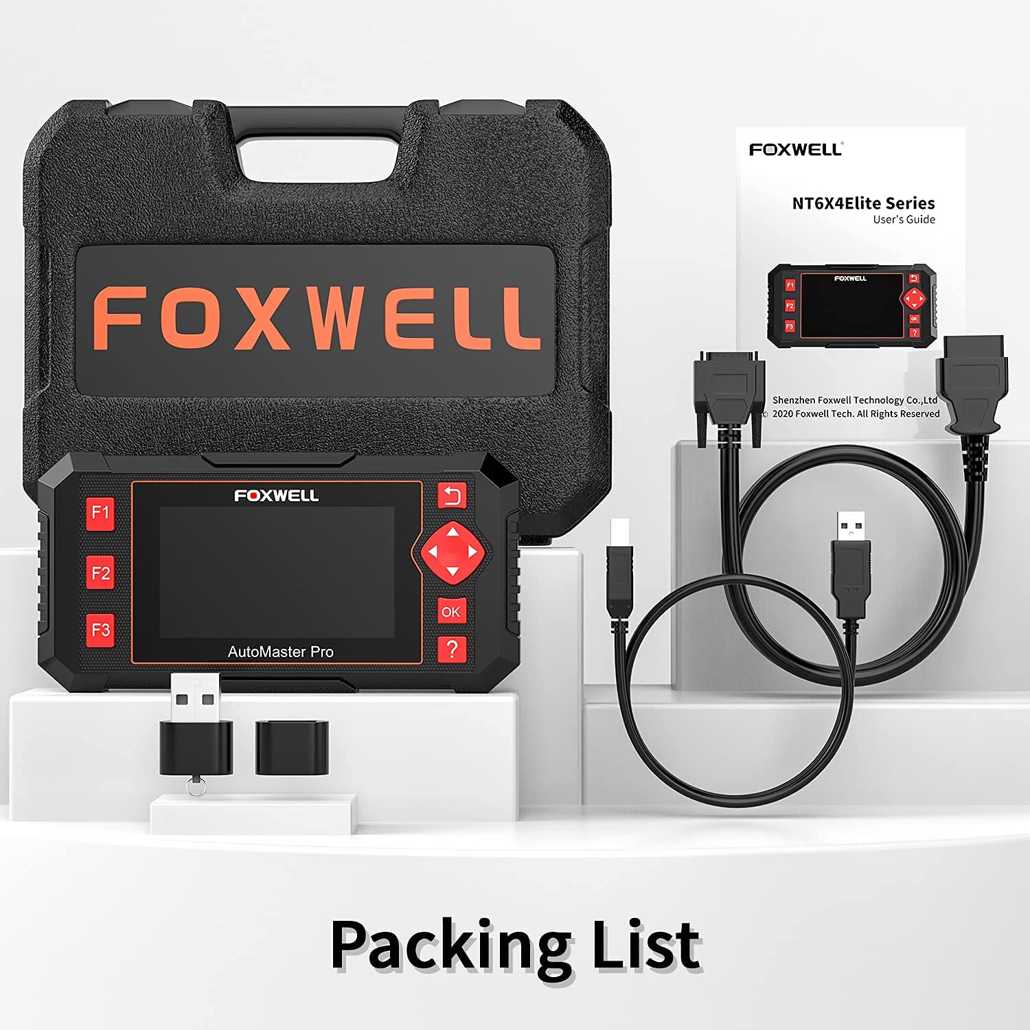 FOXWELL NT604 Review