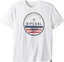 Rip Curl Kids Fourth Premium Tee (Big Kids)