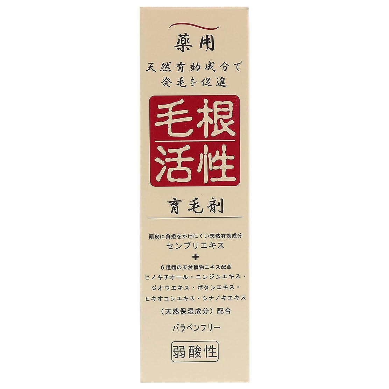 詩起点熱望する薬用毛根活性育毛剤 150ml