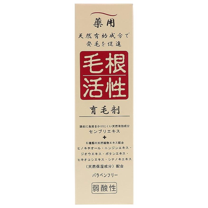 最も早い壮大な最も早い薬用毛根活性育毛剤 150ml