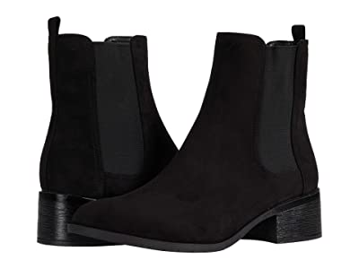 Kenneth Cole Reaction Salt Chelsea Boot (Black Microsuede) Women