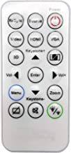 INTECHING BR-3079N Projector Remote Control for Optoma EH400+, H183X, S321, S341, S342e, S343, W330, W331, W334, W335, W34...