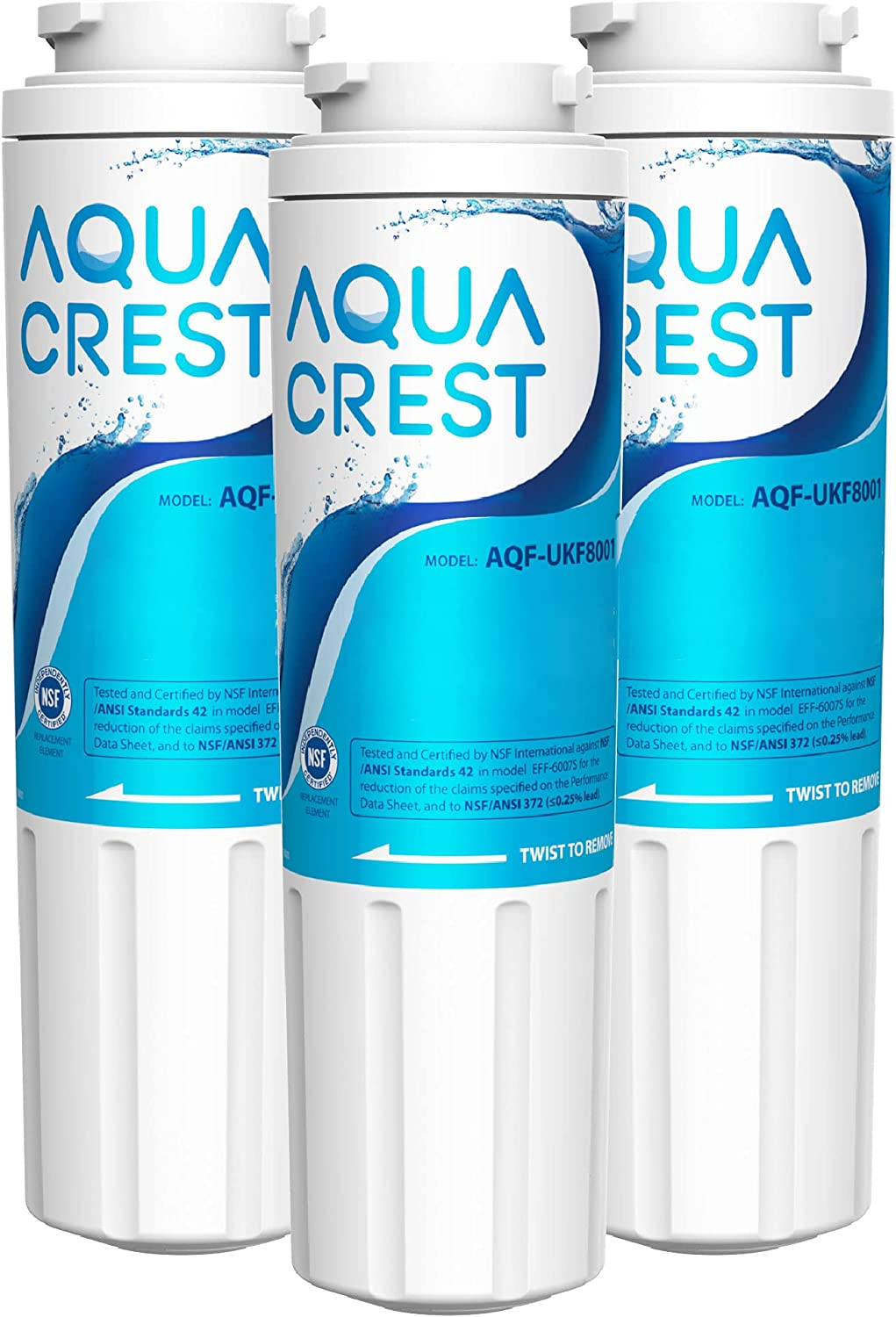 Max 78% OFF AQUA CREST UKF8001 Replacement for Now on sale EveryDrop 4 Filter Whirlpool