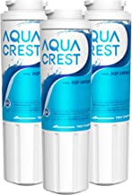 AQUA CREST UKF8001 Replacement for EveryDrop Filter 4, Whirlpool EDR4RXD1, 4396395, Maytag UKF8001P, UKF8001AXX-750, Puriclean II, 46-9006, Refrigerator Water Filter (Pack of 3)