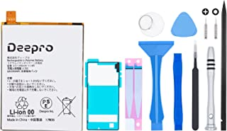 Deepro Xperia Z5 バッテリー 交換 キット PSE基準 LIS1593ERPC (SO-01H / SOV32 / 501SO) 3.8V 2900mAh 専用防水シート付き