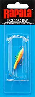 Rapala Jigging Rap 03 Fishing lure, 1.5-Inch, Glow Tiger