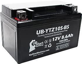 YTZ10S-BS Battery Replacement (8.6Ah, 12v, Sealed) Factory Activated, Maintenance Free Battery Compatible with - 2015 Yamaha FZ-07, 2006 Honda CBR1000RR, 2007 Honda CBR1000RR, 2015 Yamaha FJ-09