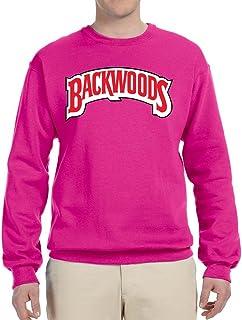 967c2c7dd Backwoods Red Logo | Mens Pop Culture Crewneck Graphic Sweatshirt