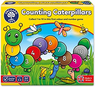 Orchard Toys Number and Matching Game - Counting Caterpillars