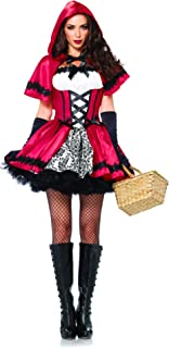 gothic red riding hood fancy dress