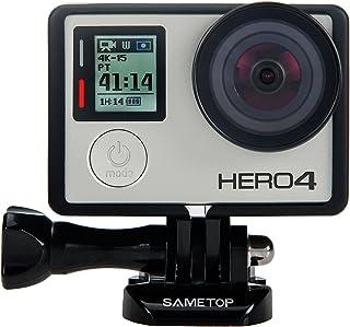 Sametop 保護フレームケース ハウジング型ネイキッドフレーム ウェアラブルカメラ用アクセサリ GoPro Hero 4 3+ 3 兼用