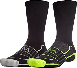 Mission Men's VaporActive Performance Crew Socks (2 Pack)