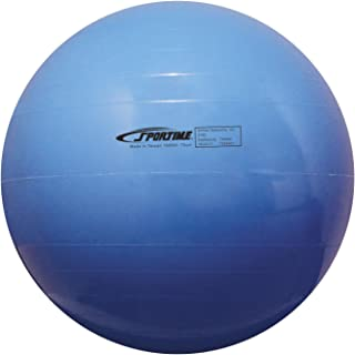 Sportime Economy Play and Exercise Ball,  17-1/2 Inches,  Blue - 1429486