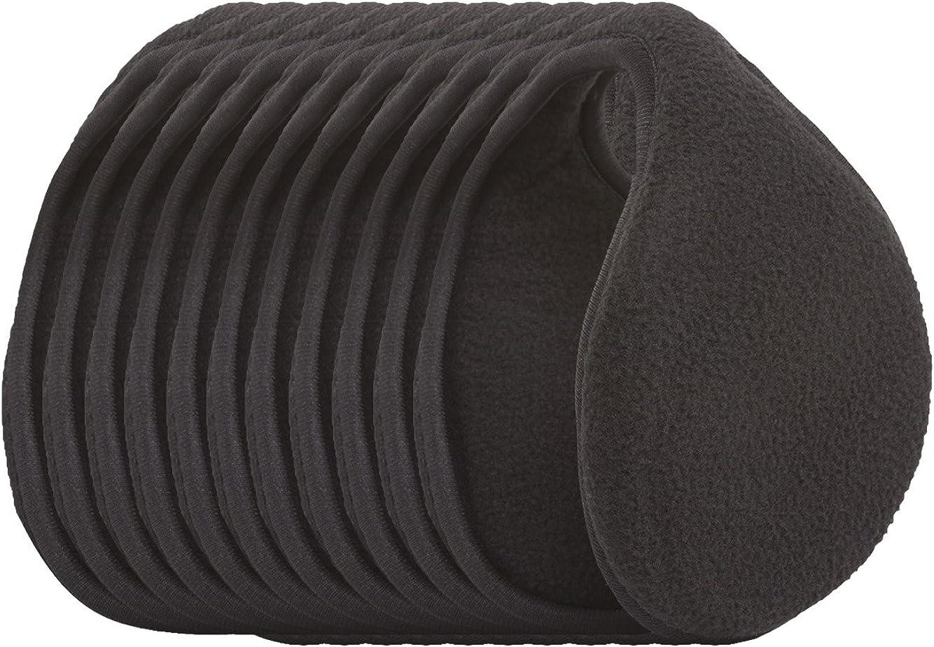 Cozy Earmuff 10 Pieces, Black