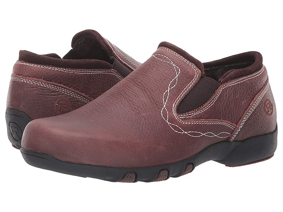 Roper Petty (Brown Tumbled Leather/Scroll Stitch) Women
