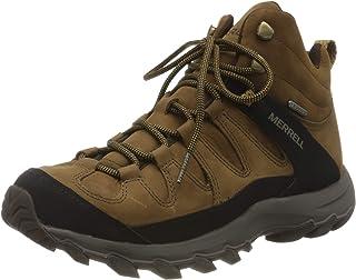 Merrell Ontonagon Peak Mid WP, Chaussure de Marche Homme, Terre, 47 EU