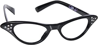 Hip Hop 50s Shop Kids Cat Eye Glasses (Baby-Toddler, black)