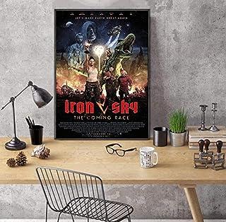 "JLFDHR Print op canvas 23.6""x31.5"" zonder frame Iron Sky: The Coming Race Movie Comedy/Actie/Science Fiction Acteur Julia ..."