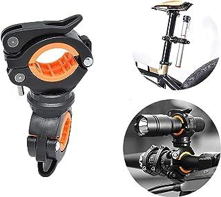 comprar comparacion letuxiashop Accesorios para Bicicletas, portalámparas para Bicicleta, portalámparas Giratorio de 360 ° - instalación Uni...
