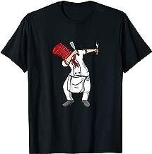 Dabbing Hibachi Chef Funny T-Shirt