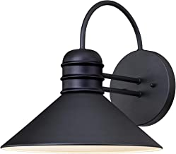 Westinghouse Lighting 6204400 Watts Creek Wall Lantern, Textured Black Finish on Steel