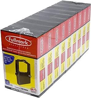 Fullmark N639BK Seamless Nylon Ribbon Compatible Replacement for Okidata ML 182/320 / 390/720 / 790, Black, 9-Pack
