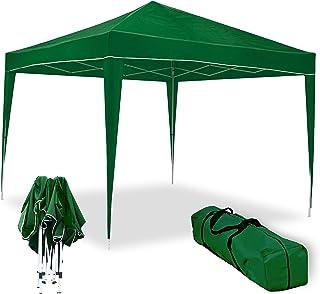comprar comparacion wasabi Carpa Plegable 3x3m Classic Verde de jardín, terraza, Camping, Playa