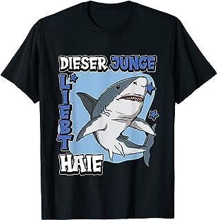 TOM JOULE Hemd allover Hai shark Print blau 104 110 116 122 128 134 140 146 152