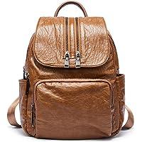 Romere PU Leather Womens Backpacks