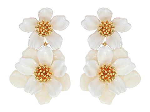 Kate Spade New York Floral Mosaic Drop Earrings