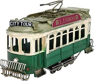 AB Tools Tram Metal Ornament Model Sculpture Statue Decoration Replica Cable Car Train