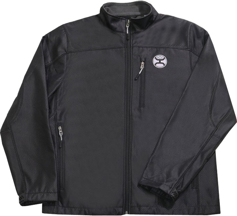 HOOey Brand All Around Softshell Mens Jacket, Black - HJ007BK