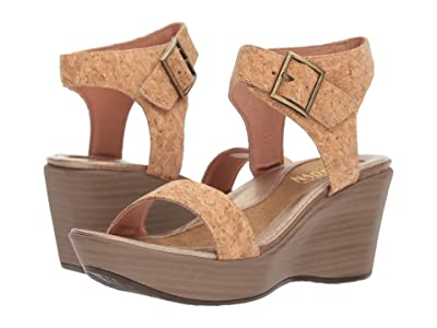 Naot Caprice (Gold Cork Leather) Women