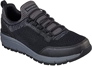 Skechers Men's Volero-Sermon Knitted Slip on Sneaker