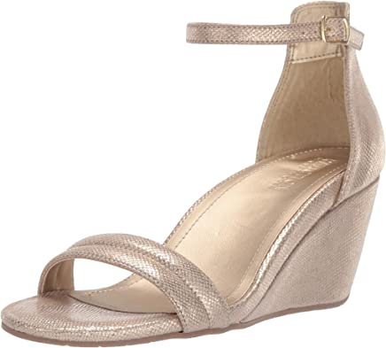 Kenneth Cole Reaction Womens 7 Cake Icing Wedge Sandal