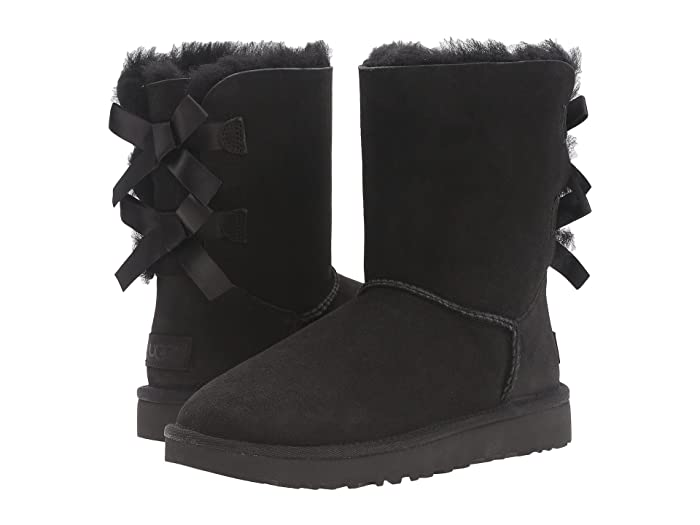 UGG  Bailey Bow II (Black) Womens Boots