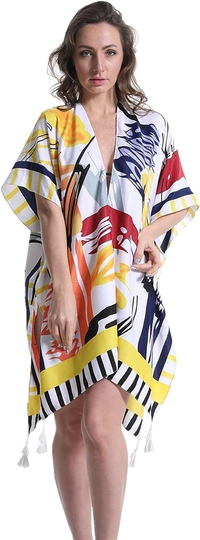 Women Kimono Beach Cover Up Swimwear Swimsuit Coverups Summer Cardigan Cover Ups