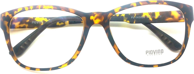 Piovino Eye Glasses Frame Ultem Super Light, Flexible Frame 3006 C9