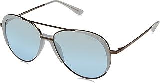 VOGUE Women's 0vo4097s Non-Polarized Iridium Aviator Sunglasses, Copper, 58 mm